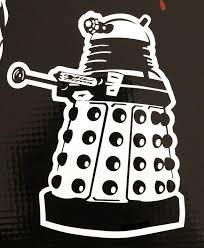 Doctor Who Dalek Vinyl Decal Bitchen Stickerz