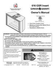 616 gsr insert owner s manual avalon