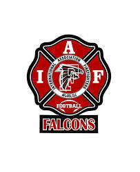 Iaff Atlanta Falcons Car Decal For Union Firefighters Free Etsy