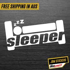 Sleeper Jdm Car Sticker Decal Jdm Prostreet