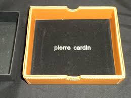 pierre cardin necklace rings display