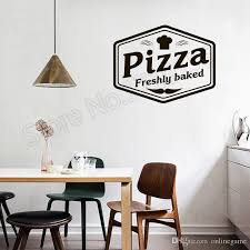 Pizzeria Wall Stickers Pizza Freshly Baked Quotes Wall Decal Restaurant Vinyl Removable Wall Stickers Window Decor White Vinyl Wall Decals White Wall Decals From Onlinegame 12 66 Dhgate Com
