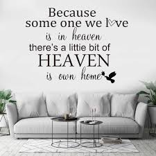 Together Family Home Heaven Wall Decals Wall Sticker Quotes Wall Art Stickers For Living Room Bedroom Decals Wall Stickers Aliexpress