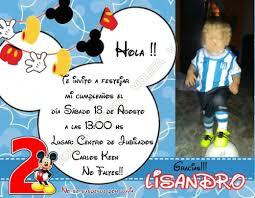 Tarjetas Invitacion Cumpleanos Mickey O Minie X 15 100 00 En