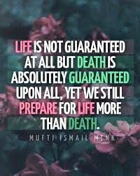 inspirational quotes about death positive quotes about death of a