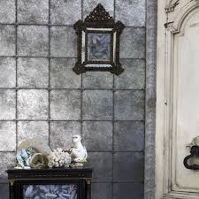 mirror wallpaper a distressed antique