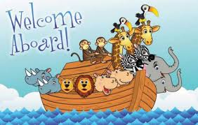 Postcard / Welcome Aboard! Warner Press