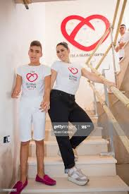 Adrian Martin and Rosa Lopez attend the Casa Global Gift ...