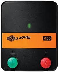 Amazon Com Gallagher G383404 M50 110 Volt Fencer Rustler 20 Acre 3 Mile Agricultural Fence Accessories Garden Outdoor