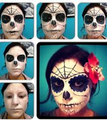 step by step sugar skull makeup great