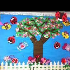 spring bulletin board ideas crafts
