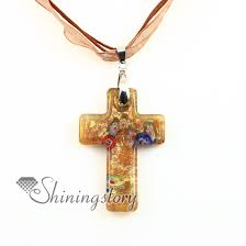 cross pendants glitter