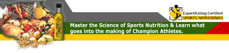 sports nutrition certification