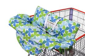 grocery ping cart baby seat cover