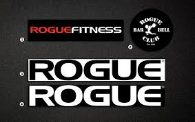 Rogue Fitness Stickers Logo Stickers Crossfit Rogue Fitness