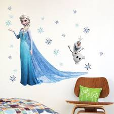 Similar To Fathead Elsa Frozen Snow Queen And Olaf Wallpaper Wall Cling Poster Decoration Decal Nursery Wall Stickers Christmas Wall Stickers Kids Wall Decals