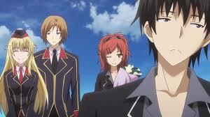 magic anime series where the mc