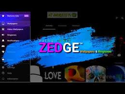 zedge best wallpaper ringtone app