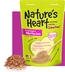 milled flax seeds nature s heart