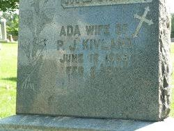 Ada Reed Kivland (1868-1911) - Find A Grave Memorial