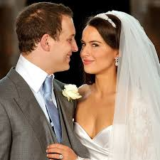 Look back at Lord Frederick Windsor's wedding to Sophie Winkleman as Lady  Gabriella Windsor prepares to marry   HELLO!