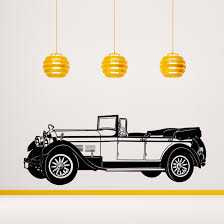 Wall Decal Rolls Royce From The 1920 S Cutzz