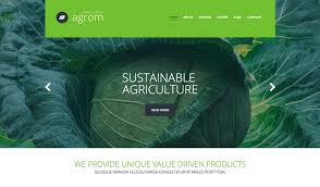 farming agriculture wordpress themes