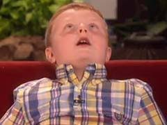Ellen DeGeneres Meets 'Apparently' Kid Noah Ritter, And He's 'Seriously'  Hilarious