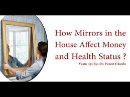 how mirrors in the house affect money
