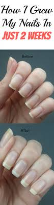 how i grew my nails in just 2 weeks