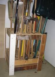 garden tool storage plans