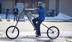 brandon thorne rides his homemade