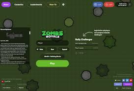 ZombsRoyale.io - Unblocked Games 66