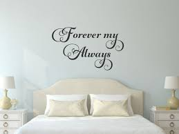 Forever My Always Wall Decal Romantic Wall Decal Wedding Decal Love Decal Love Quote Decal Love Wall Quote Wall Decals For Bedroom Baby Wall Decals Wall Decals
