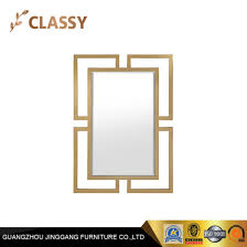 china hotel lavatory golden metal frame