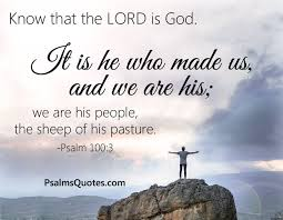 psalms about creation and nature bible verses