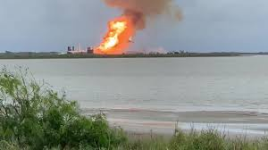 SPACEX Explosion during test