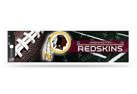 Nfl Football Washington Redskins Bumper Sticker Officially Licensed Custom Sticker Shop