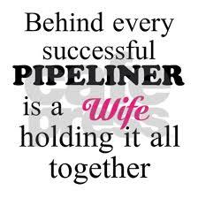 Pipeliner Wife 1 Sticker Rectangle Pipeline Wife Sticker Rectangle By Nothin Finer Than A Pipeliner Cafepress