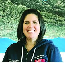 City Fire outreach coordinator talks non-Englush emergency preparedness  with governor - Santa Barbara News-Press