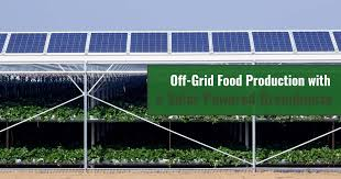 Off Grid Food Production With A Solar Powered Greenhouse