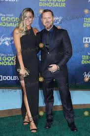 """Photos and Pictures - Abigail Ochse, A.J. Buckley 11/17/2015 """"The Good  Dinosaur"""" Premiere held at the El Capitan Theatre in Hollywood, CA Photo by  Kazuki Hirata / HollywoodNewsWire.net"""