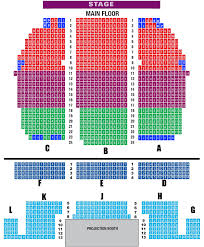 seating amenities visalia fox theatre