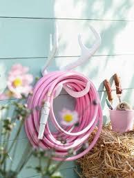 color garden hose antler hook mount