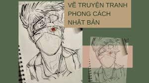 VẼ TRUYỆN TRANH PHONG CÁCH NHẬT BẢN - Trung tâm dạy vẽ TP HCM