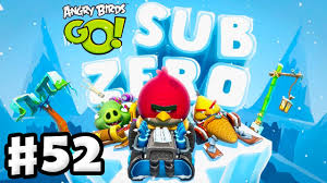 Angry Birds Go! Gameplay Walkthrough Part 52 - Sub Zero Track 2 ...