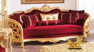 ruby red sofa antique victorian sofa