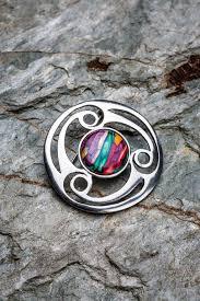 scottish jewellery made from heather