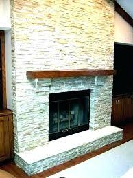 modern fireplace tile contemporary