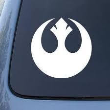 Amazon Com Rebel Alliance Vinyl Decal Sticker A1463 Vinyl Color White Automotive
